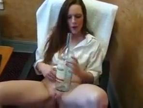 Katharine Nadzak Bottle Insertion Busty milf lesbian squirt and naughty