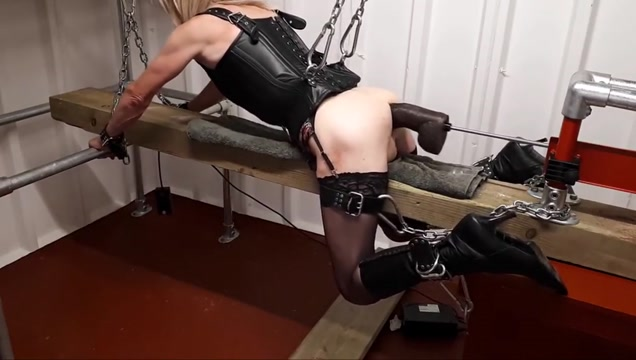 RachelSexyMaid - No.17 - 13 inch BBC Dungeon Punishment Online sex position selector