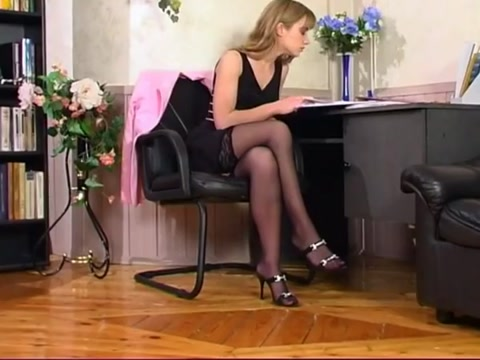 Stockings Office lust Free largest shemale cock