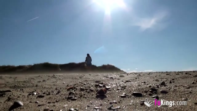 Masturbating in nude beach while guys watch and jerk off Russian milf teasing