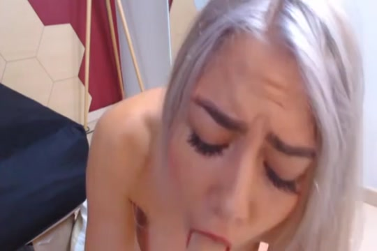 Pretty Estonian Blonde Drilling Her Toy On Her Ass Hole