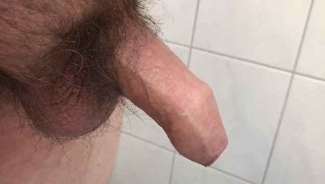 My uncut cock cums after two weeks with no cumshot Self shot big tits