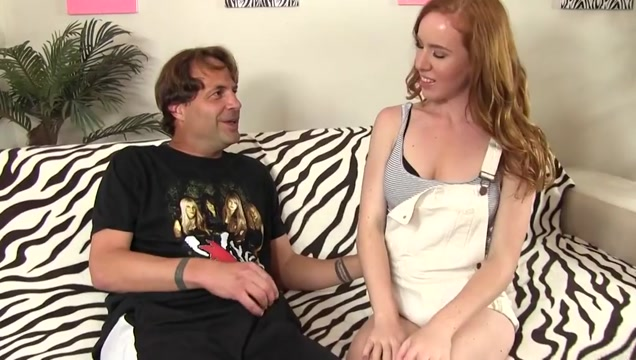 Kierra Wilde nice red haired pussy banna blow job girl
