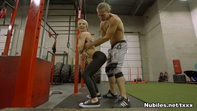Kenzie Reeves in Gym Honey - NUBILES