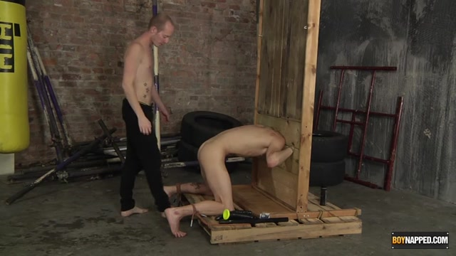 Buggered In The Stocks! - Michael Wyatt Sean Taylor - Boynapped Brazilian mom fucks son
