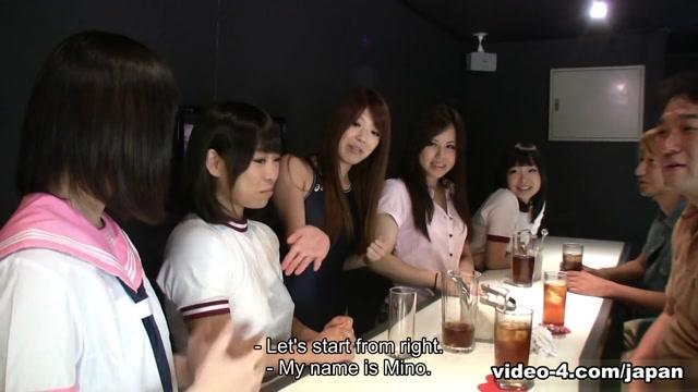 Yuri Sakura, Seiko Ida, Mio Kosaki Having Sex In A Club - JapanHDV your first lesbian experience