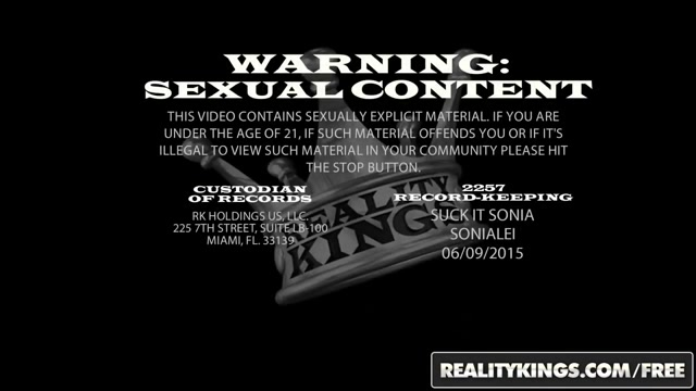 Reality Kings - Horny blonde milf Simone Sonay takes some younger cock