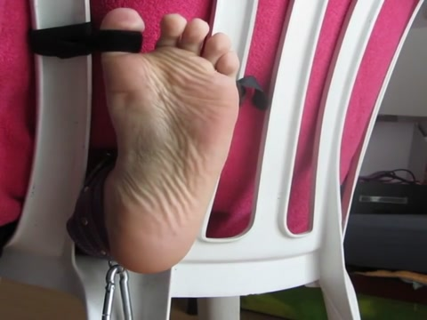 225 strokes on the foot on stock, great torture of bastinado male to male massage video