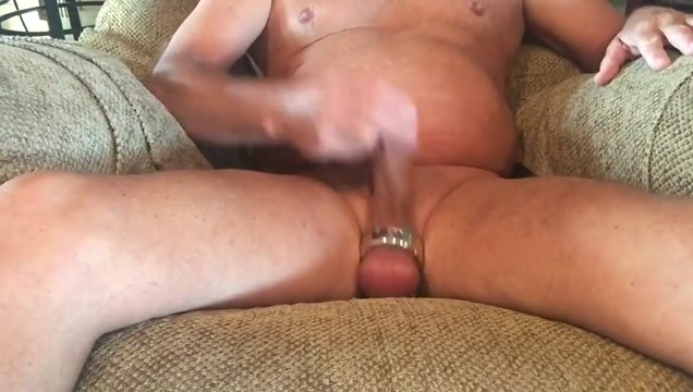 Ball Streching Masturbation with cum shot San antonio tits