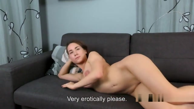 Horny Teen Poses And Rubs Juicy Virgin Vagina