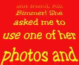 I Cum for Alli Bimmer Revised Christmas gift girl dating months