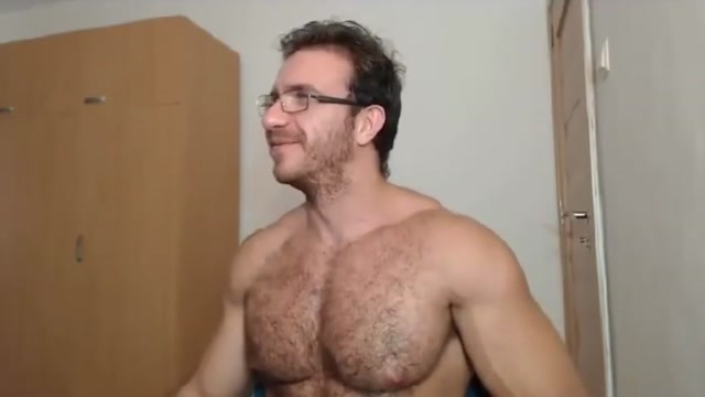 Hairy Glasses Dude Big naked tits creampies