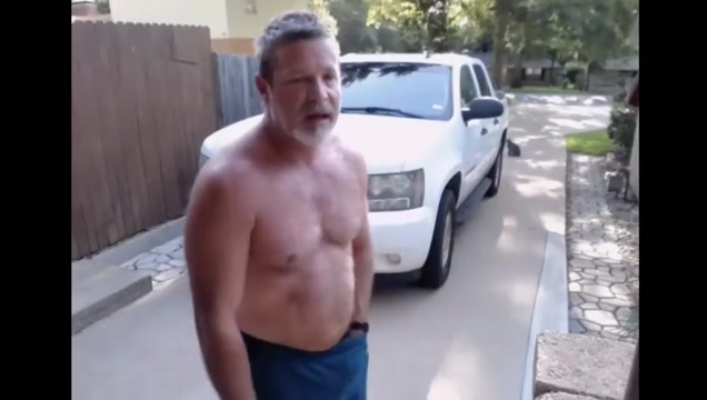 dad gets caught stroking outside his house kiw ru plus lco