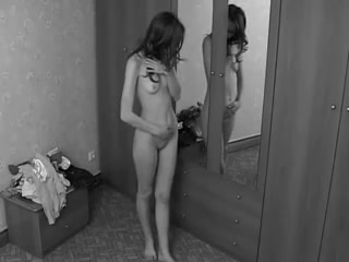 Perfect immature stripping on hidden camera