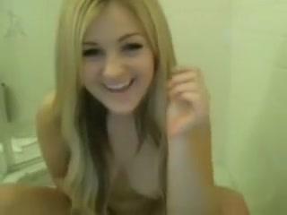 Cute Blond Masturbating In Baths