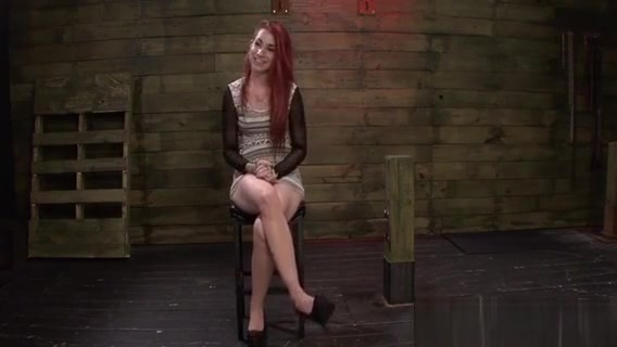 Insatiable Redhead Is Delighted In A Horny Strap On 3some