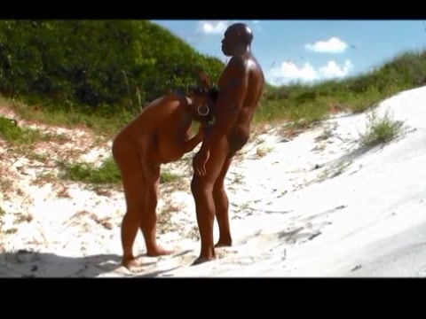 Fucking a big titted thick blk woman behind the sand dunes Limelight swingers