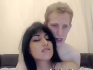 Fucking my Latin slut in the face Cougars mature ass