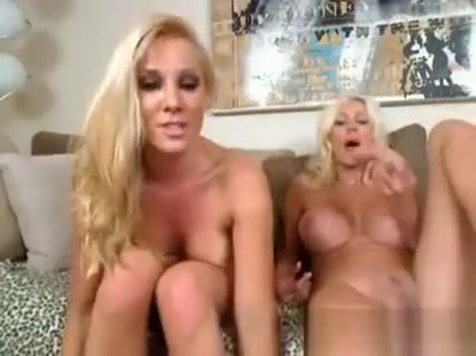 Blonde Lesbians Having A Great Time With A Strapon