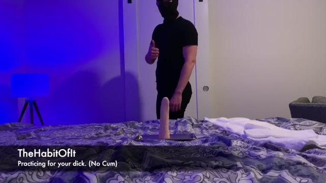 Jock Dildo Practice (No Cum) Girl with huge boobs doing yoga nude porn
