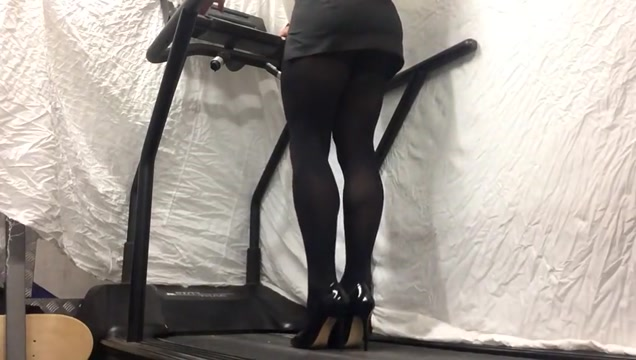 Office lady opaque black hose . backroom casting couch mandy
