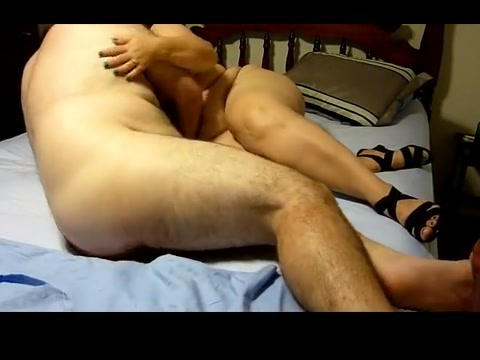 Banging my BBW Wife Big ass hole video