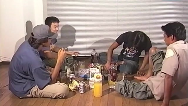 japanese drunk party nomo morning prostate milking with toys 1