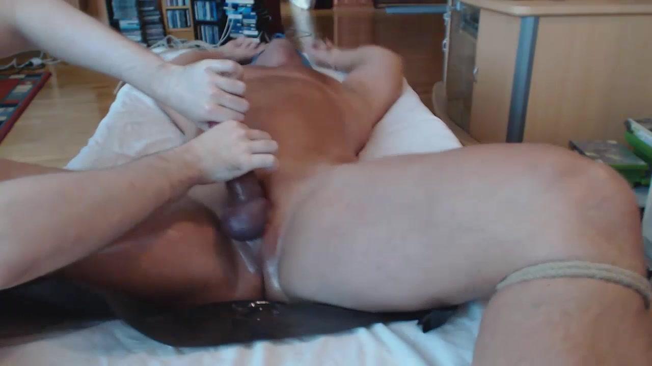 Me edging teasing assplaying hung stud - post cum rubbing Huge tits in world