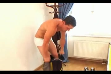 Gay hunks in kinky interracial gay sex video Sexy girl in red strips porn