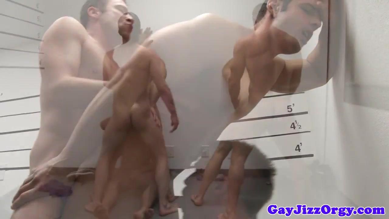 Close up orgy climax with Liam Magnuson Nude crime scene