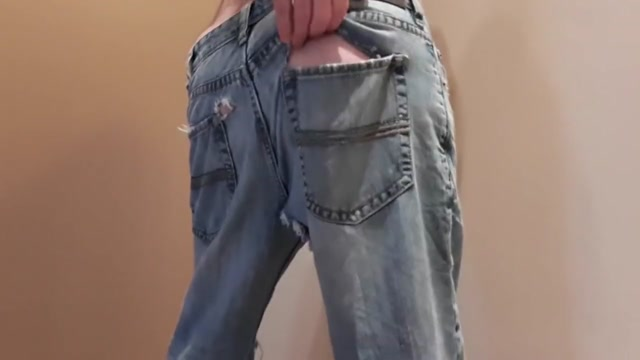my cock and ass seen through my ripped jeans Sexy desi girls real pics