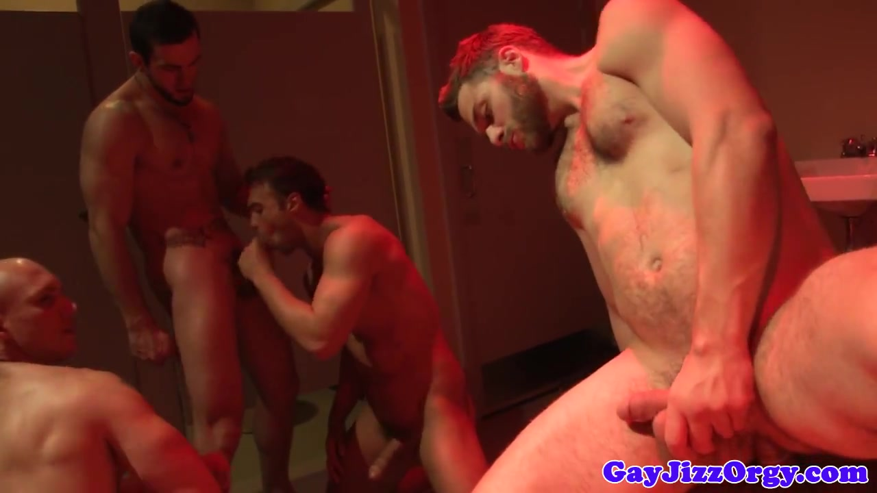 Hardcore orgy with John Magnum and buds Hot slave femdom with cumshot