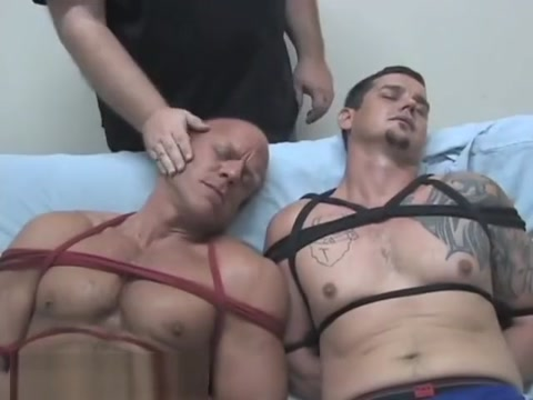 Two hunks get gagged Watch free busty blonde