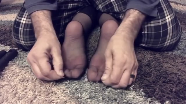 Wifes Nylon Feet Tickled In Toes Cuffed Dark Girl Fucked