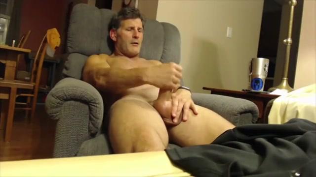 DILF jerks off on cam Nude boobs girls pics