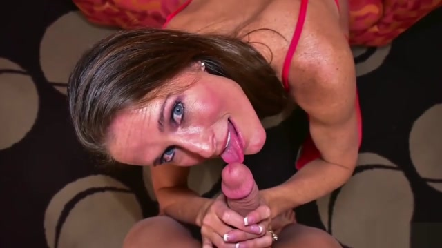Oral sex mom and son (Sofie Marie) Passionate love making