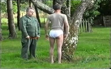 Military Training - Spanking Horny clothed euro fetish lesbians