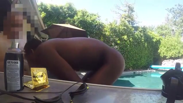 Poolside Floaty Fuk girls playin with there pussy