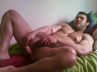 Amateur - Hunk goes deep with his toy. gilf want to fuck