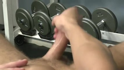 Hunk muscle solo jerkoff Big fat white ass