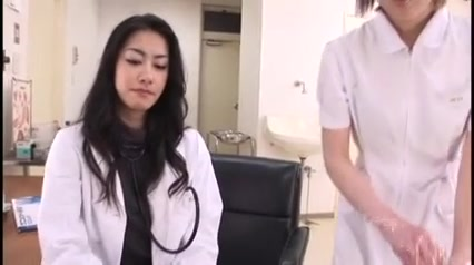Japanese Nurses Gather The Sperm (Uncensored) black pussy dripping with cum