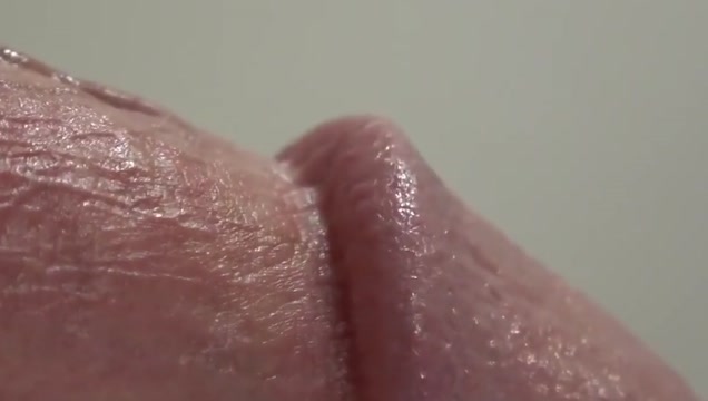 Close up cock cumming in slow motion big ass oil fuck