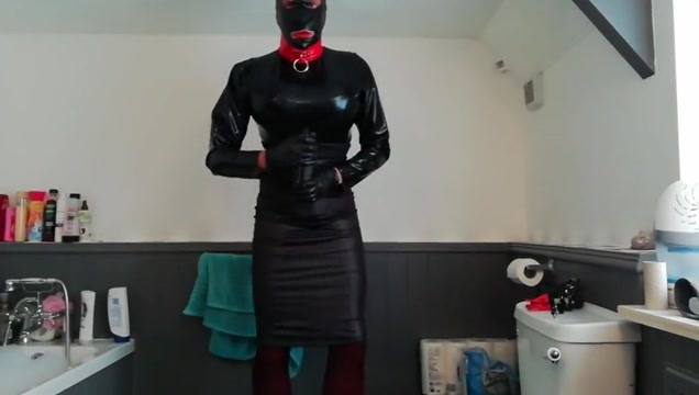 Latex and lycra crossdresser 2 Nude wife saggy tits