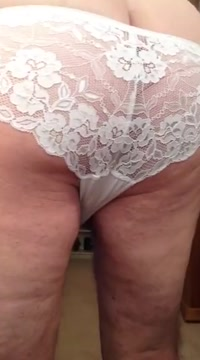 Don wanks and cums on his wifes panty gusset Bent over galleries