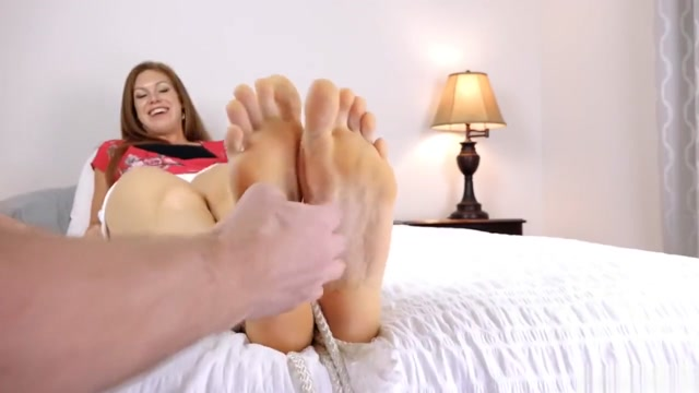 Big sized 11 feet being tickled danejones com free porn
