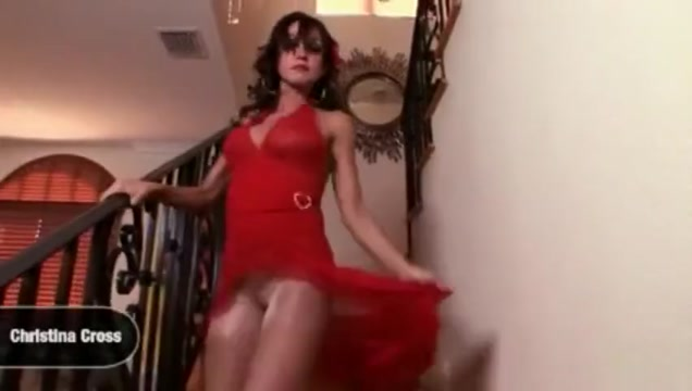 Cock inside ripped nylon footjob Asian fuck shower