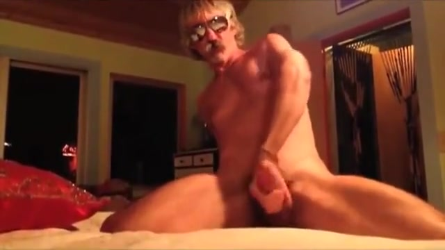 Silver Muscle Daddy Jerks In Bedroom White skinny big perky tits porn