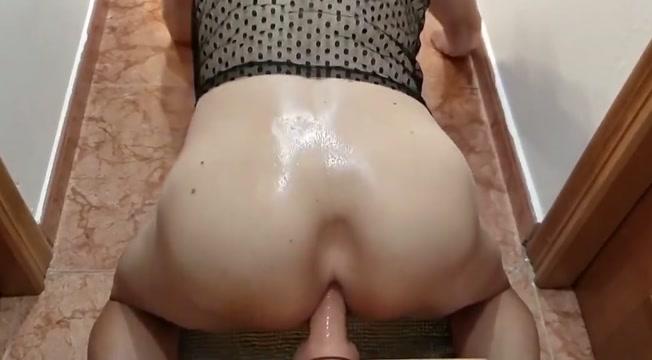Crossdresser fucking big dildo blonde college threesomes two guys
