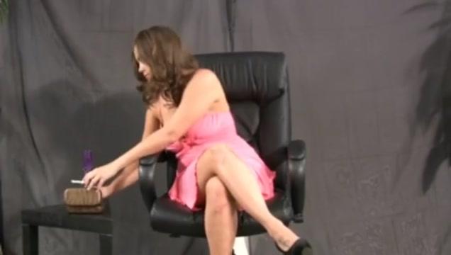Smoking masturbation Lesbian Strap On Milf
