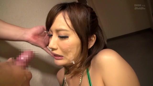 Horny Japanese model in Crazy Facial, Lingerie JAV clip
